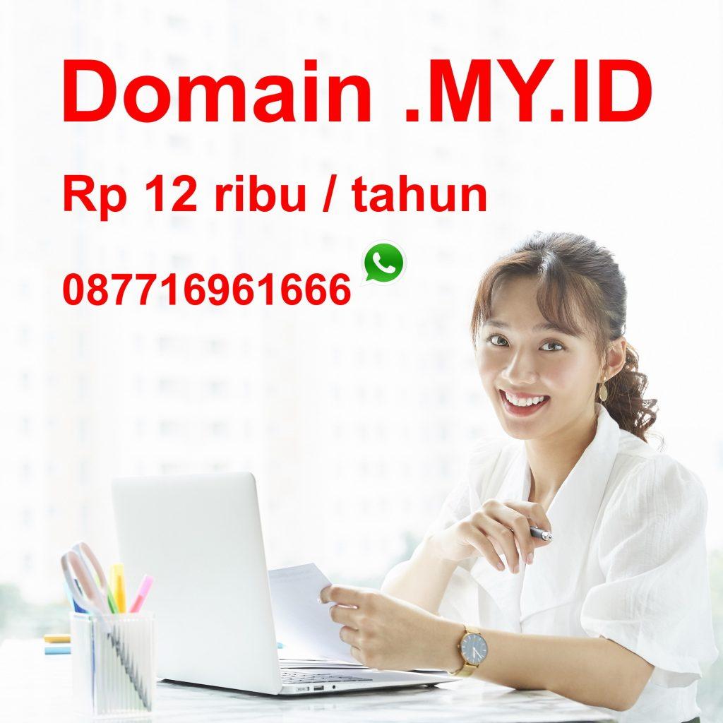 domain my.id murah